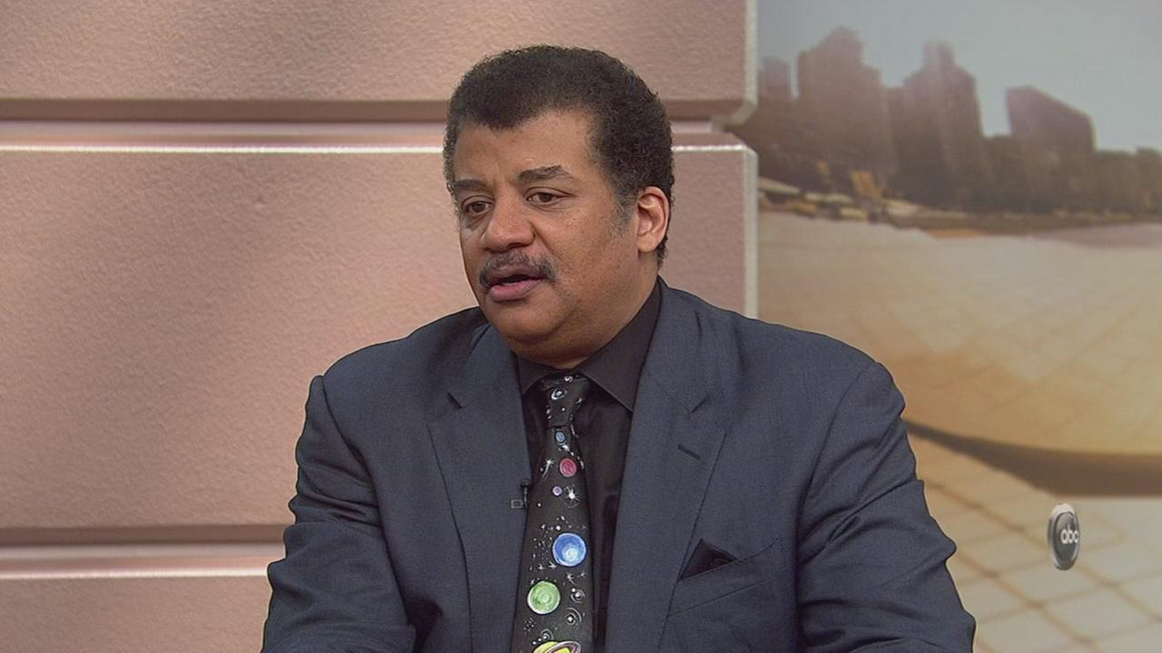 Neil DeGrasse Tyson stops by WCL