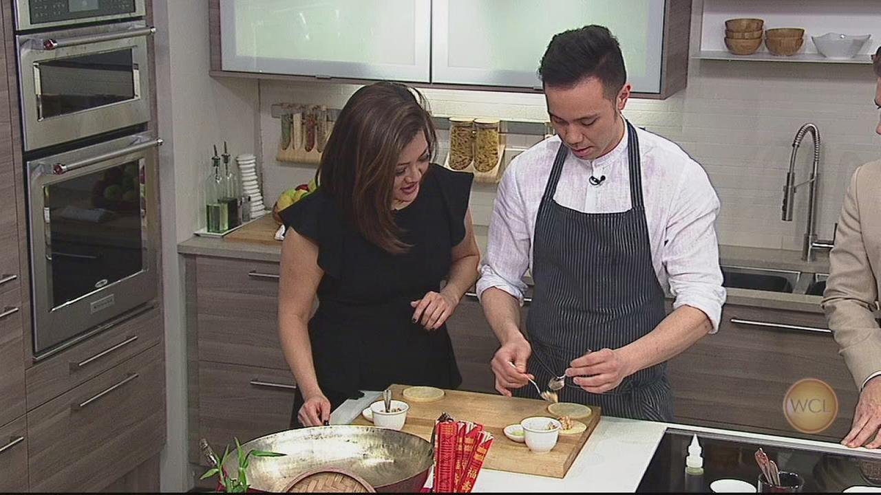 Lincoln Park chef shows how to make dumplings