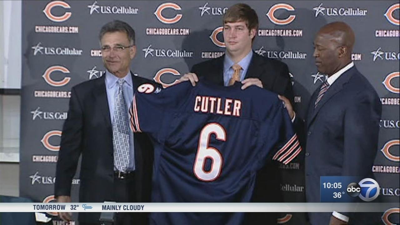 Chicago Bears release QB Jay Cutler