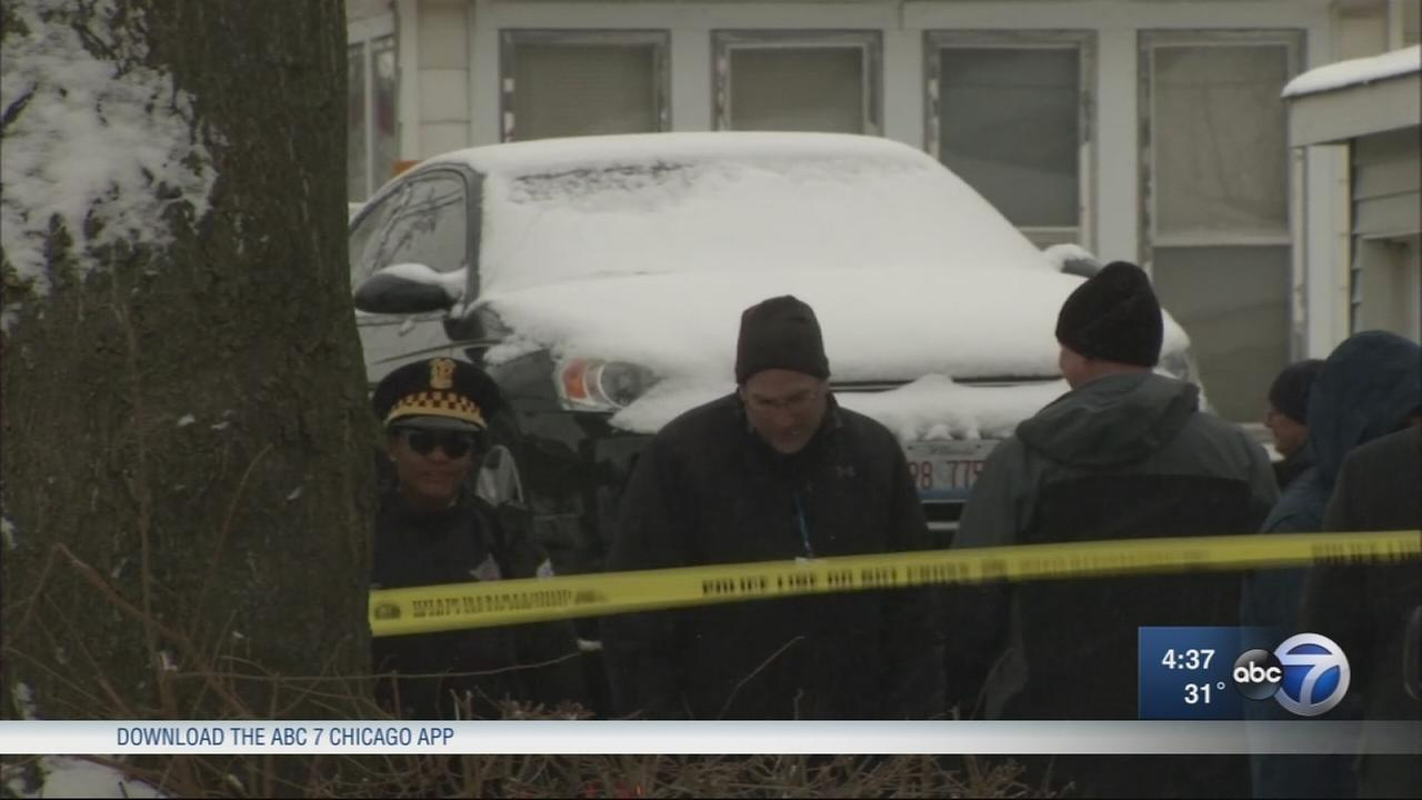 The bodies of three men were found in a vehicle in the Auburn Gresham neighborhood.