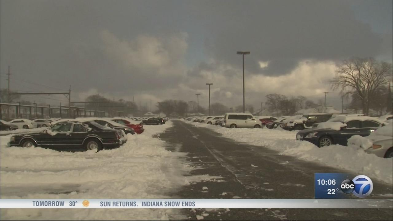 Lake effect brings late March snowfall