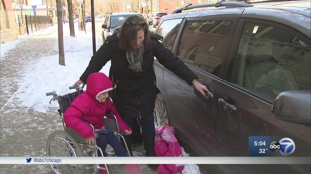 Family sues Chicago school over wheelchair accessibility