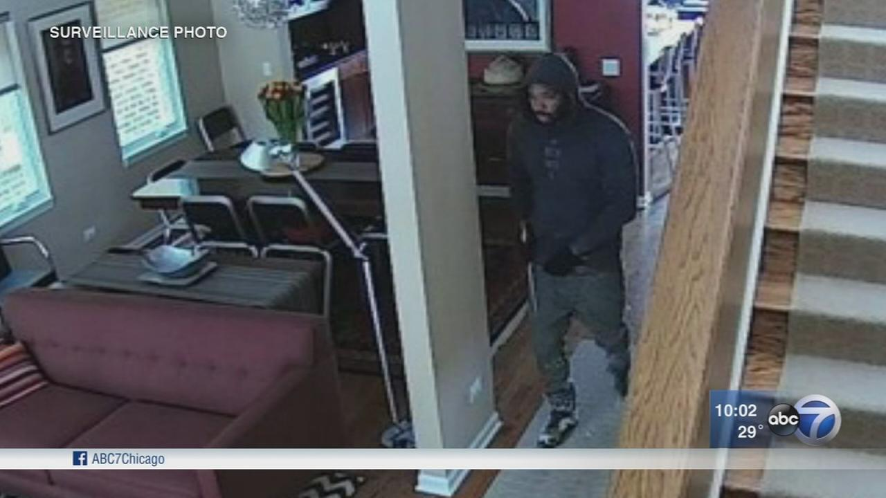 Bucktown home intruder caught on camera suspected in 2 crimes