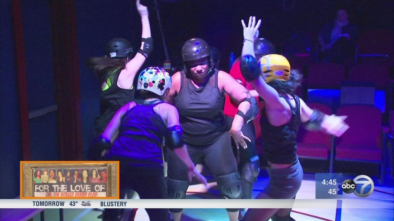Uptown play pays tribute to neighborhood?s roller derby history