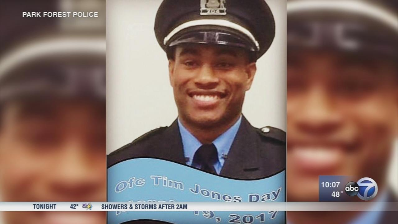 1 year after shooting, Park Forest officer recovers
