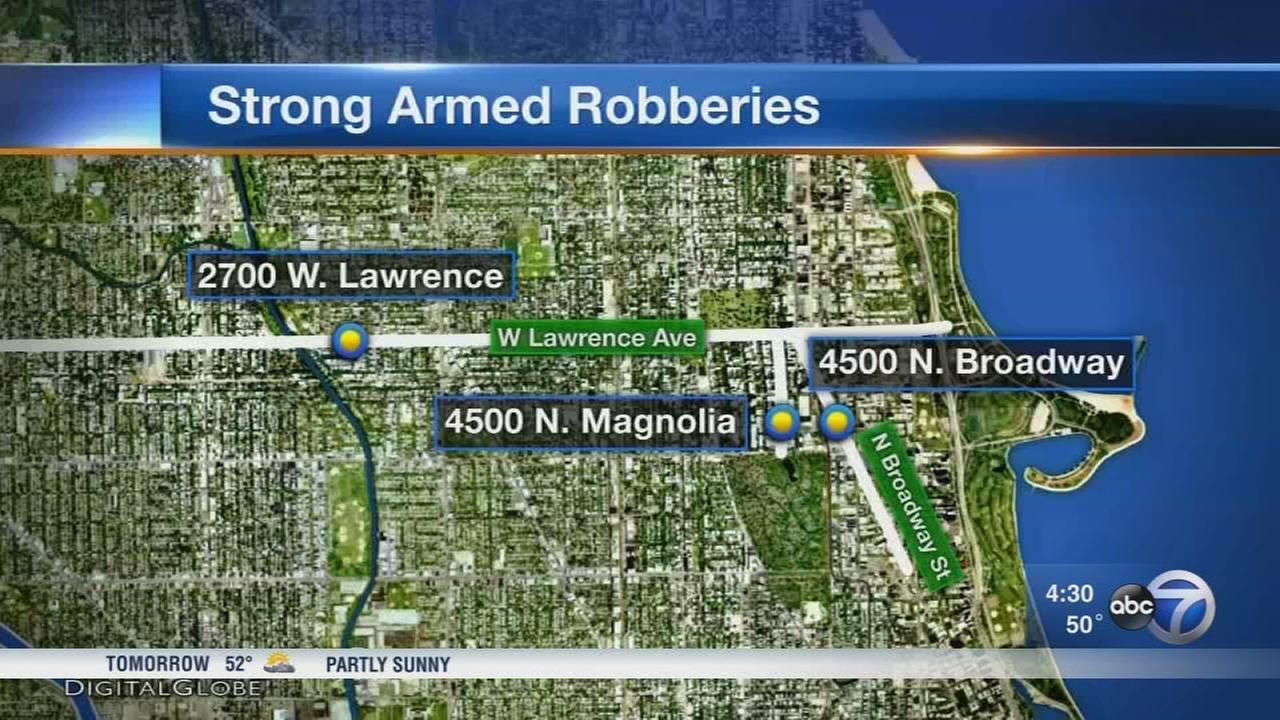 Violent robberies hit Uptown, Lincoln Square