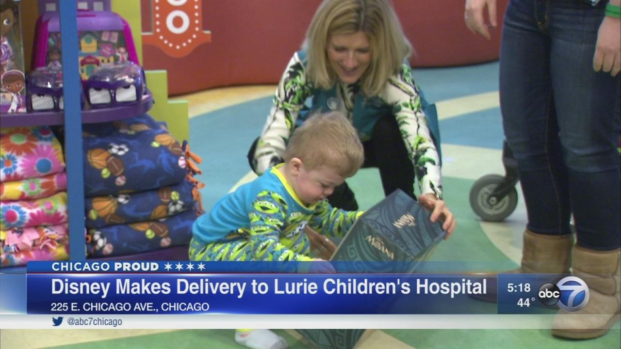 Disney delivers care packages to Luries