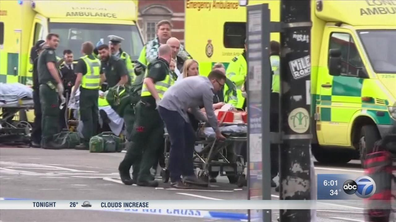 5 dead in London attacks, including police officer and attacker, British police say