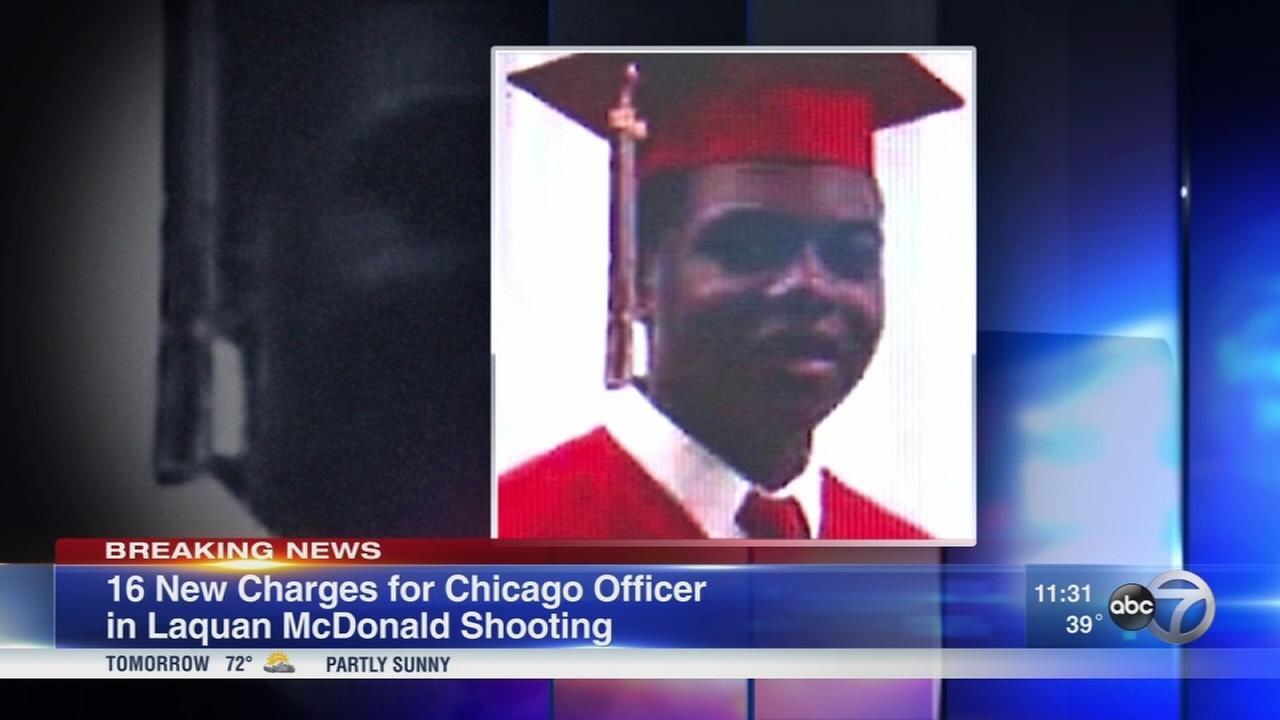 Additional charges in Laquan McDonald shooting