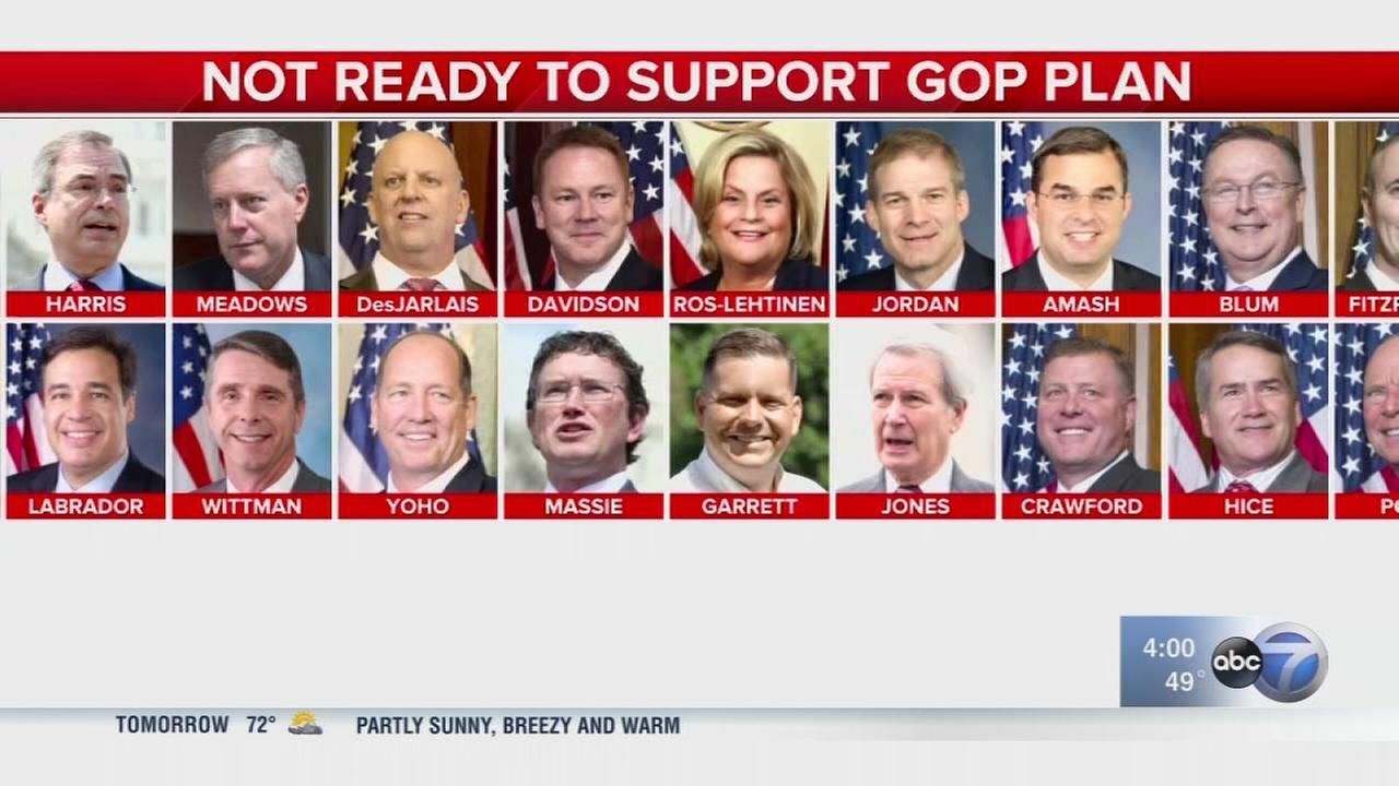 House postpones healthcare vote