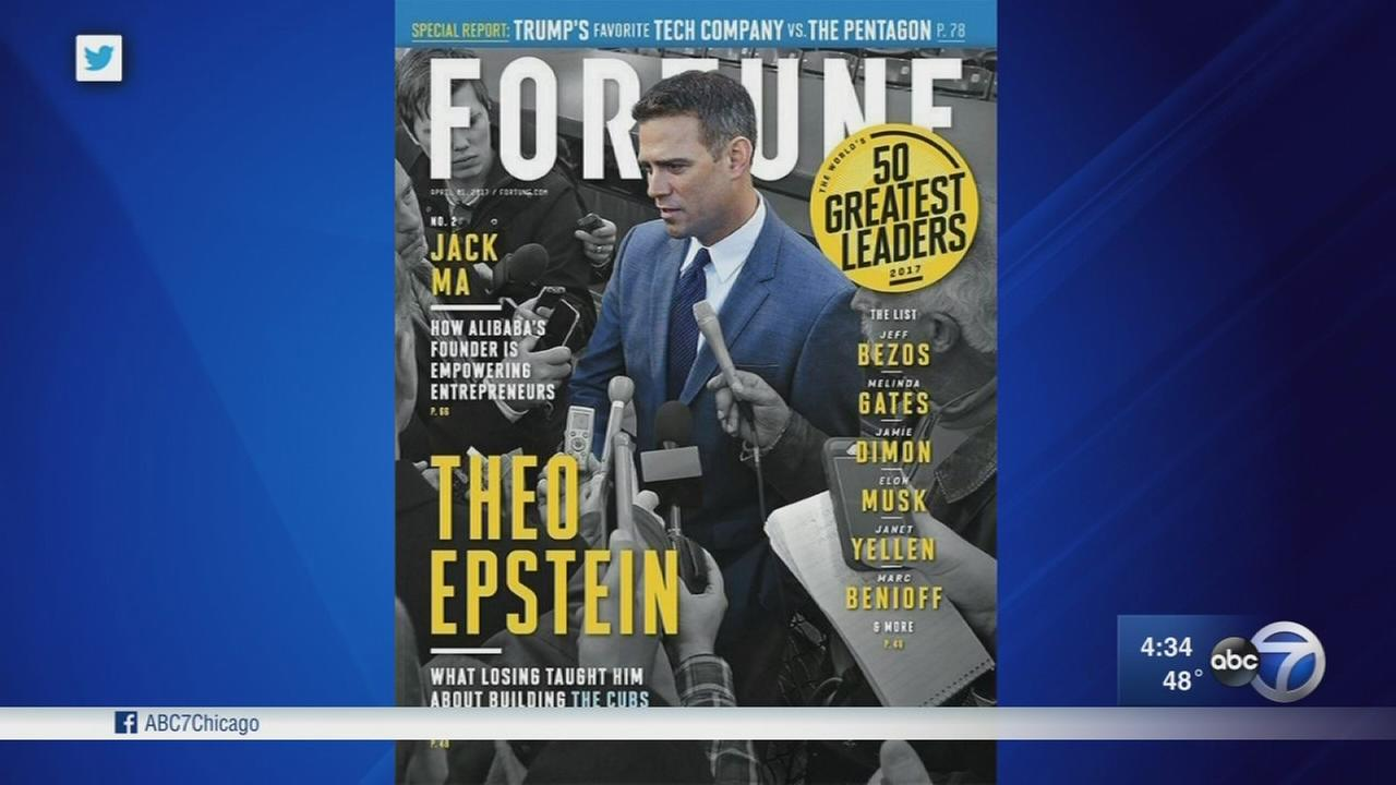 Theo Epstein tops Worlds Greatest Leaders list by Fortune