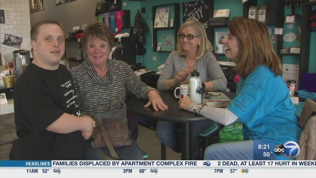 Cafe allows adults with Down syndrome to learn career skills