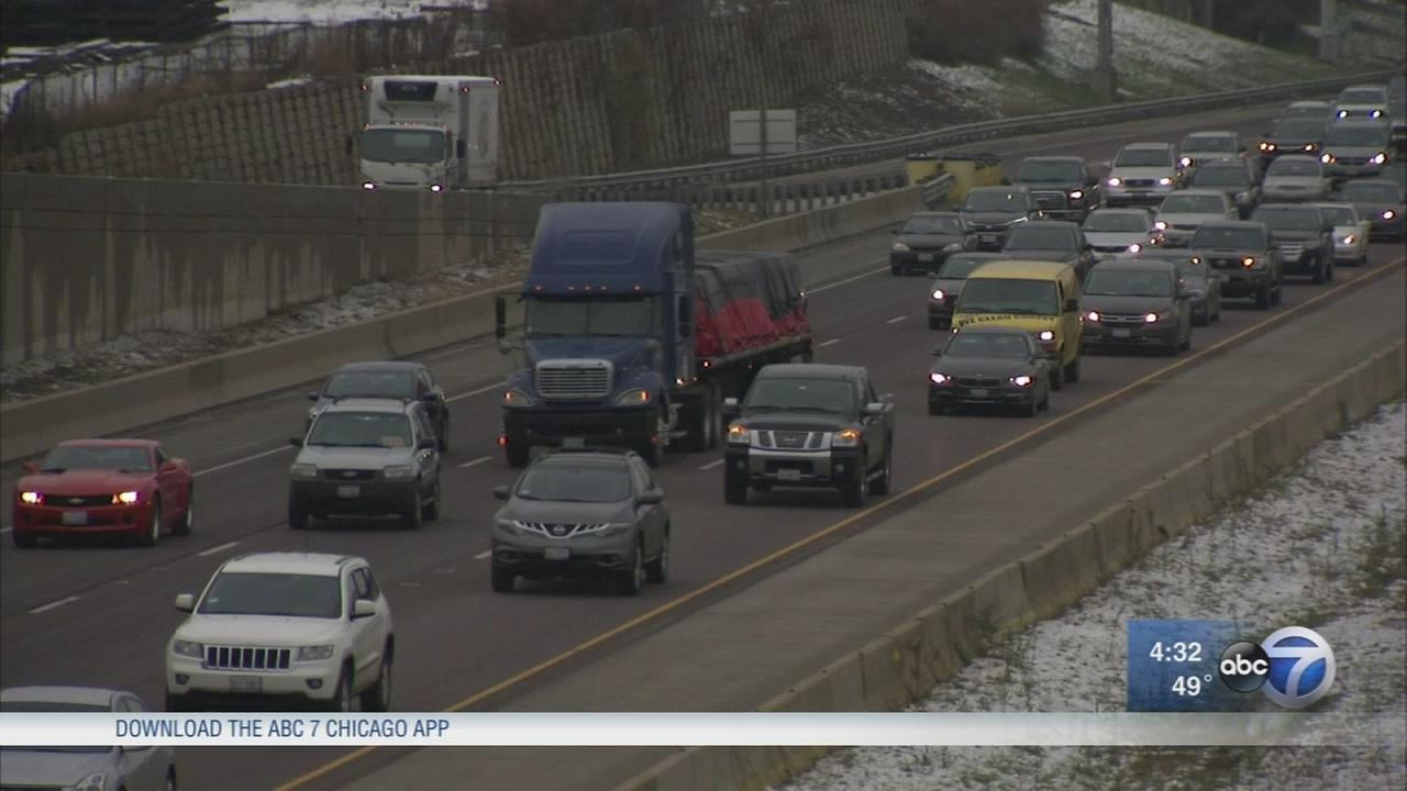 Rauner pushing to add toll lanes to I-55