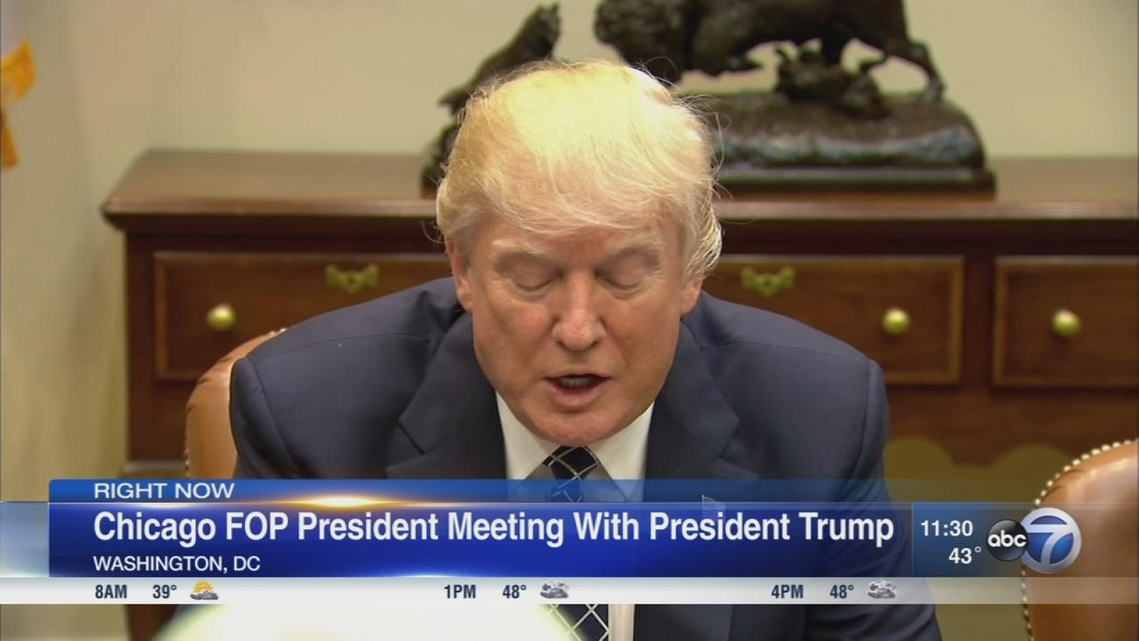 Trump meets with FOP leaders