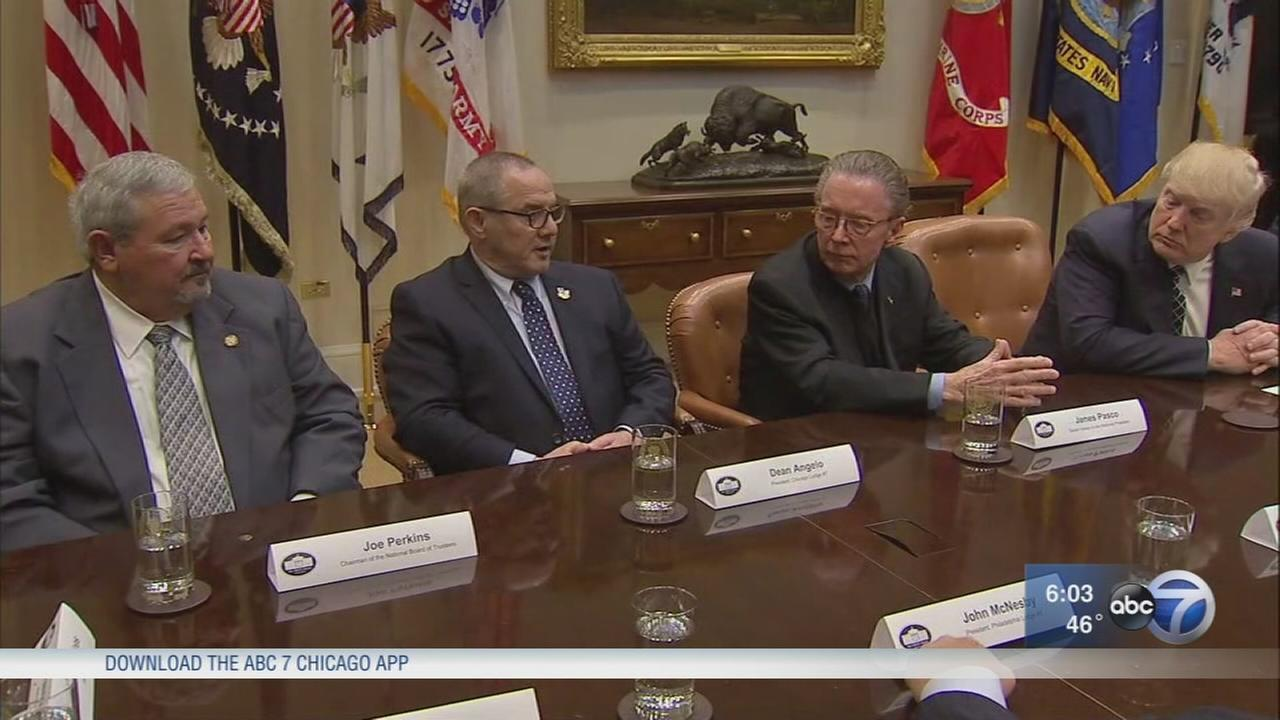Chicago FOP president meets with Donald Trump