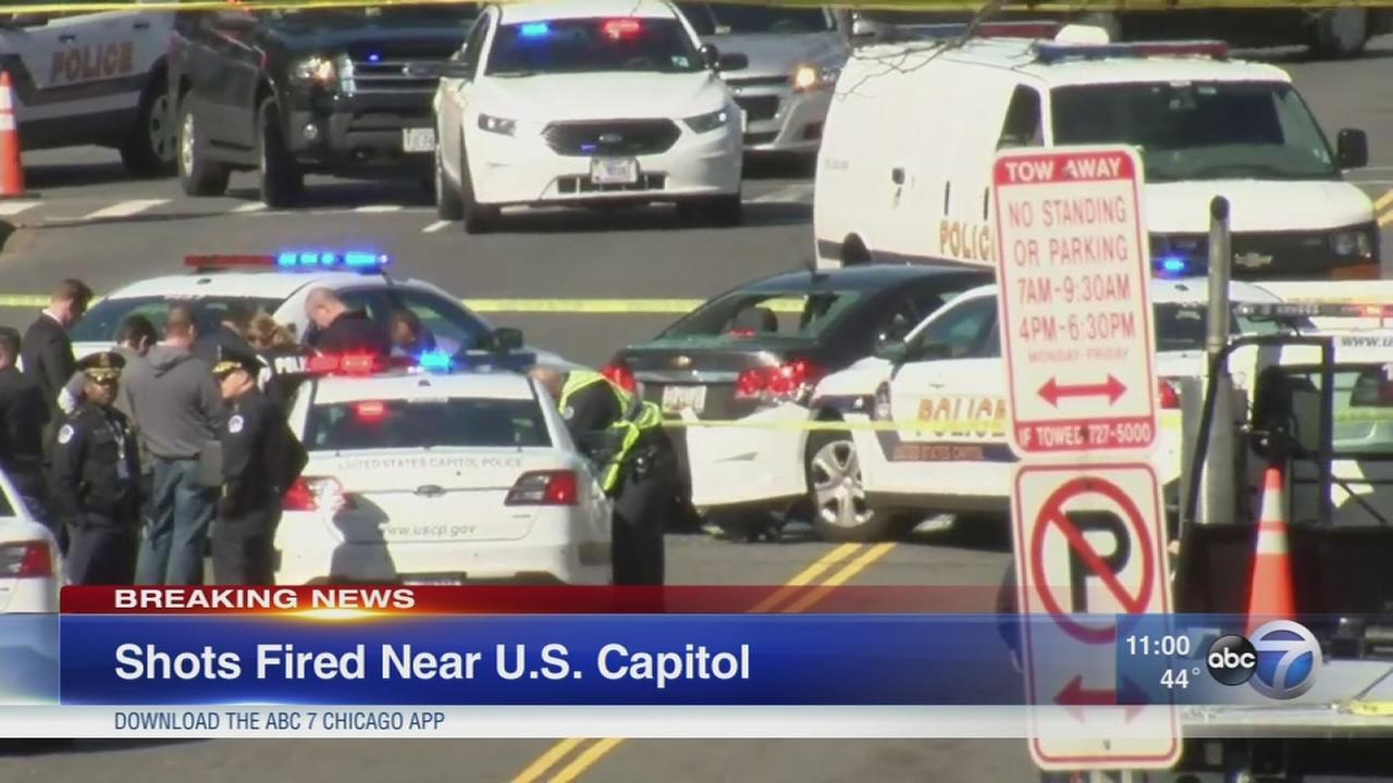 Shots fired near US Capitol