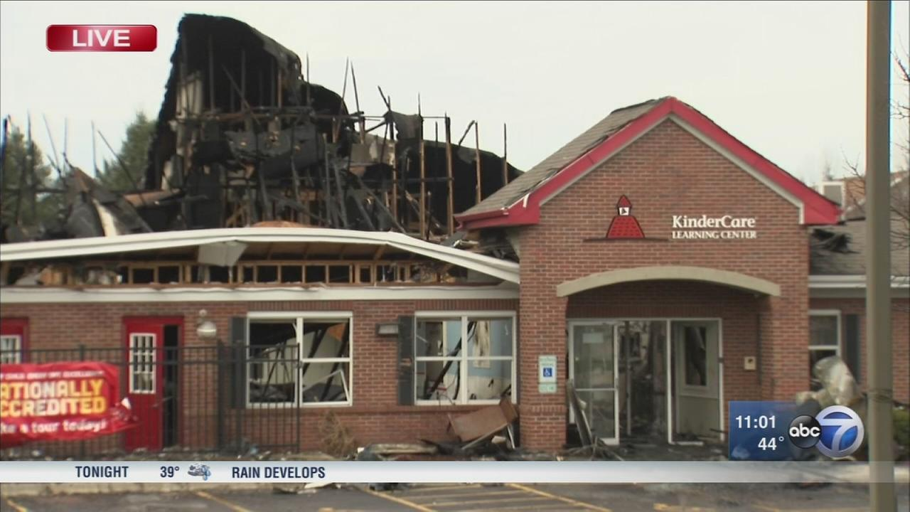 Fire destroys South Elgin KinderCare