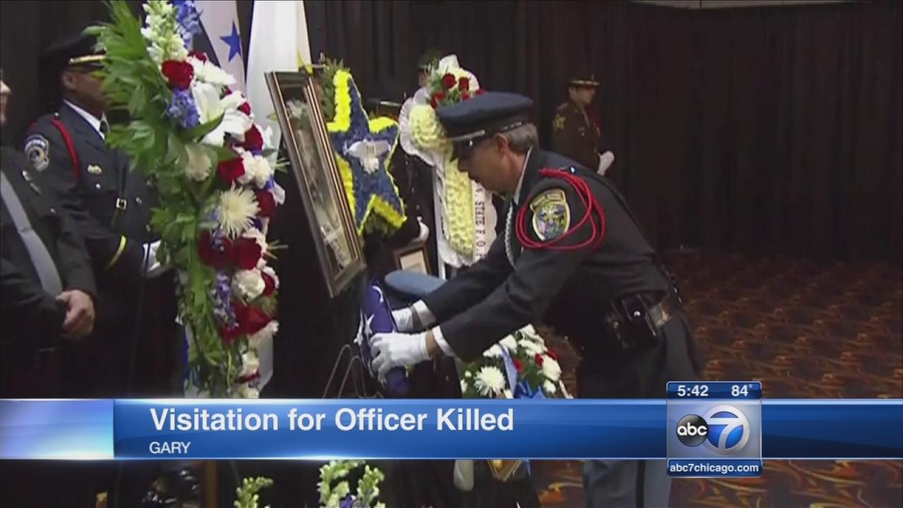 Memorial services held for Gary police officer Jeffrey Westerfield