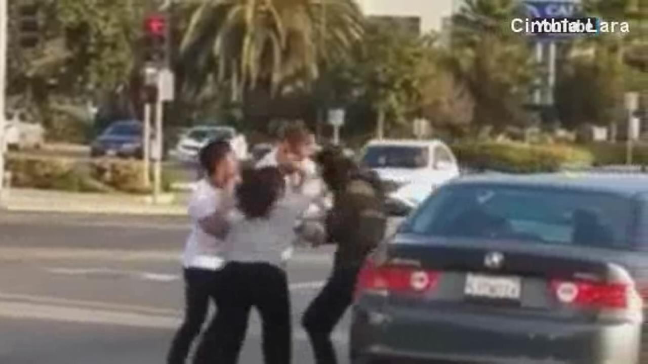 VIDEO: 2 couples fight in Chula Vista road rage incident