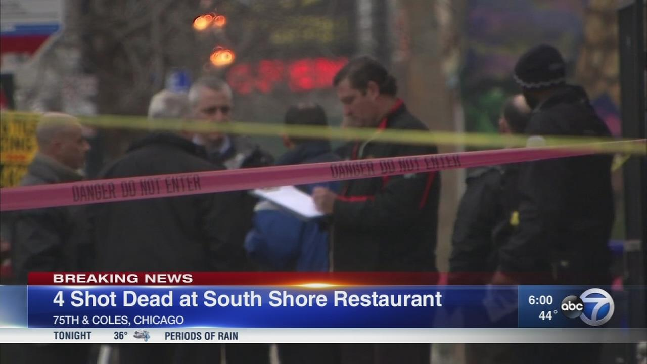 Officials: 4 dead in South Shore shooting
