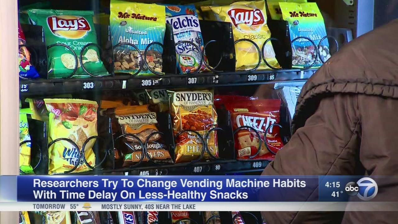 Changing vending machine habits