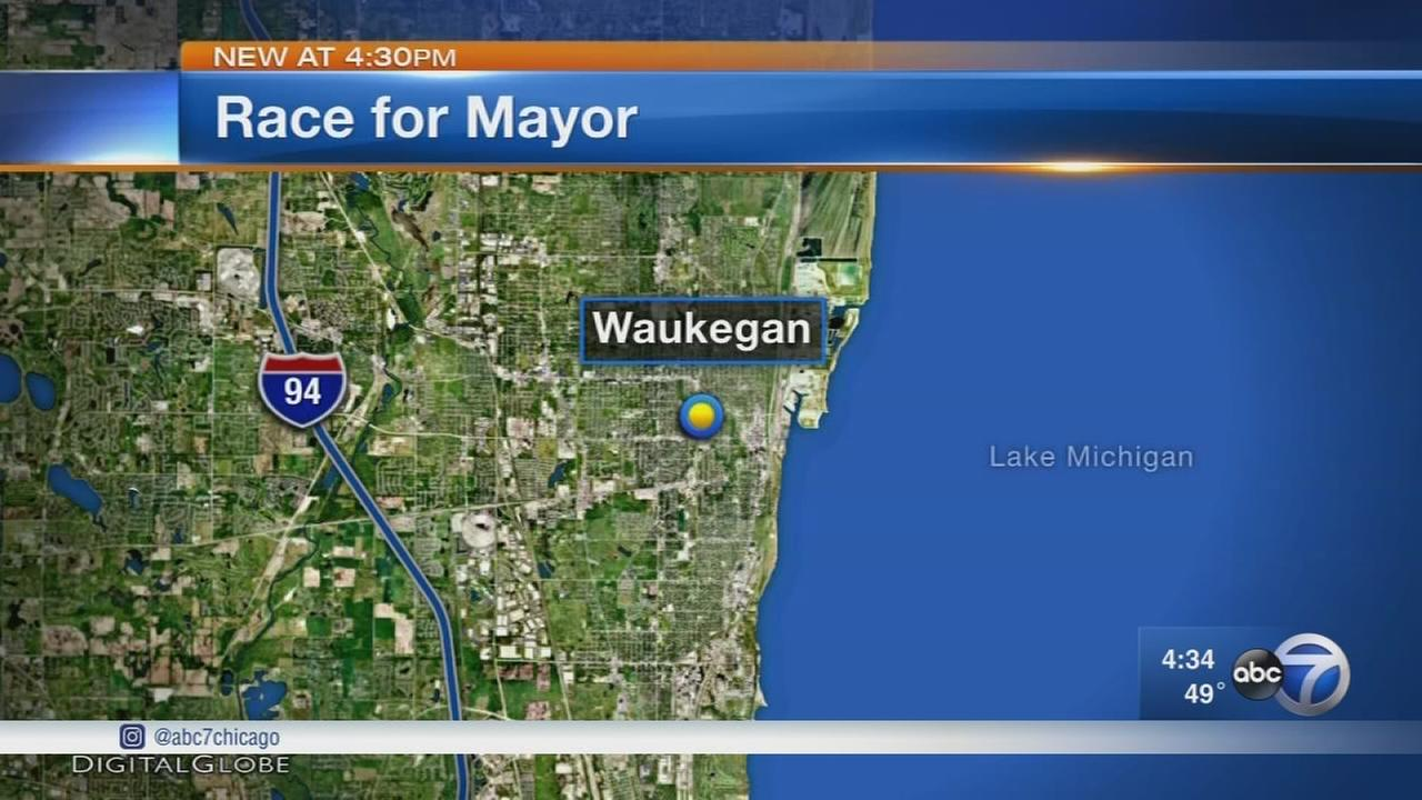 Waukegan residents vote Tuesday in mayoral race
