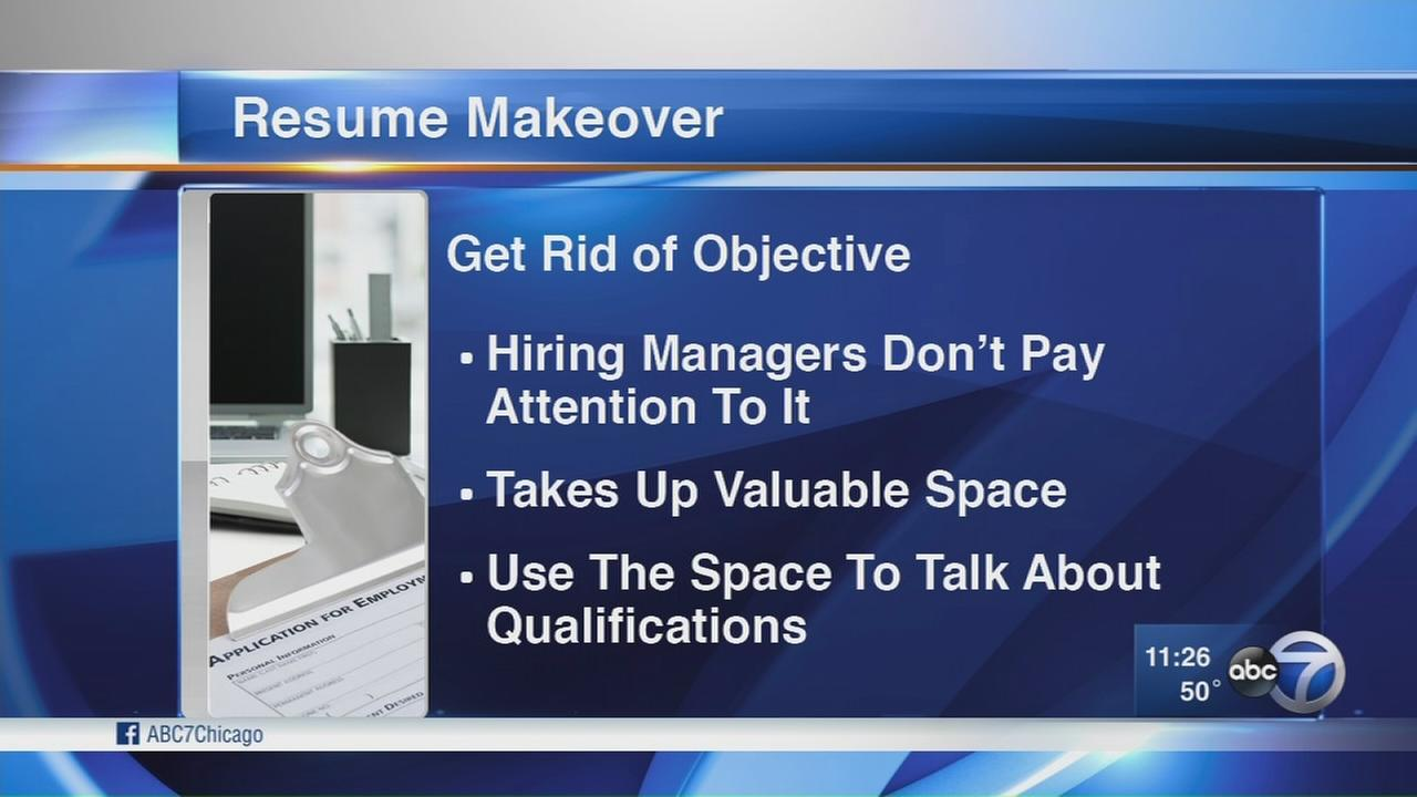 Tips for a resume makeover