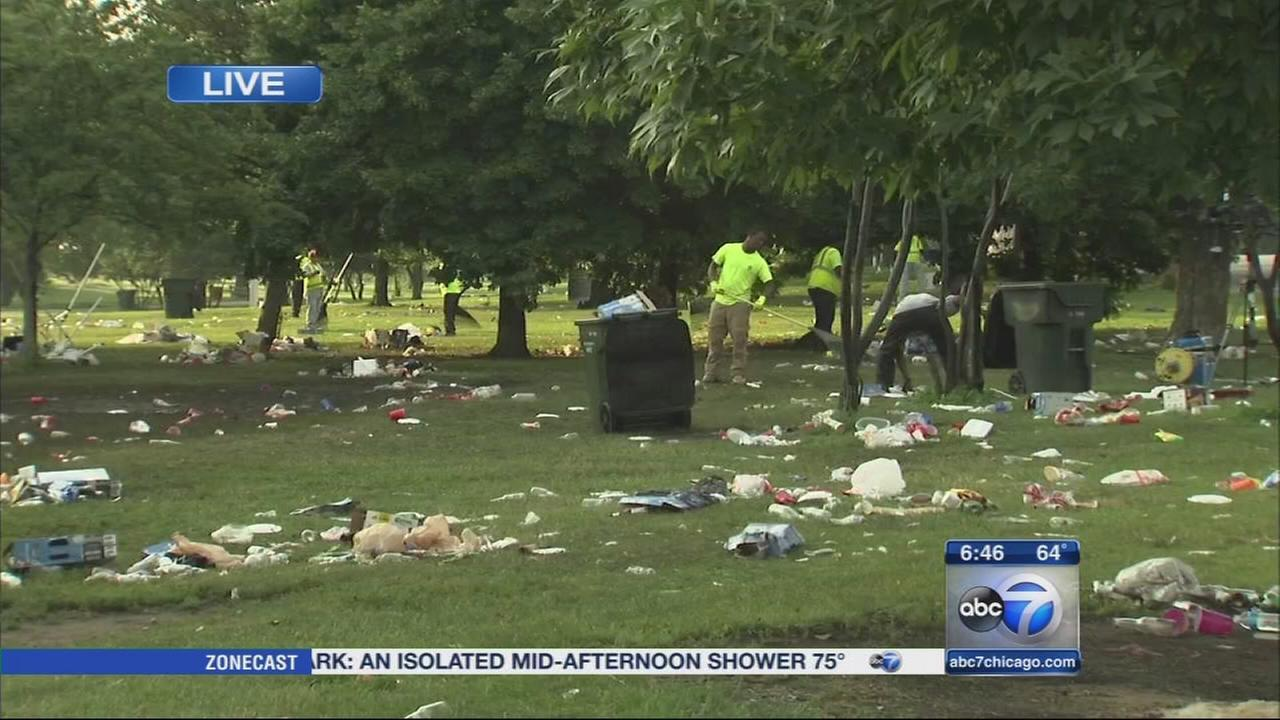 Charges pending against 9 after Montrose Beach fight