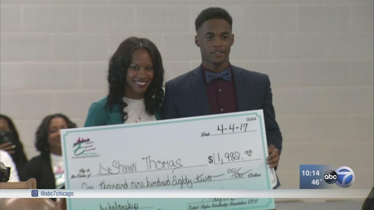 Chicago woman uses money from fathers death for scholarships