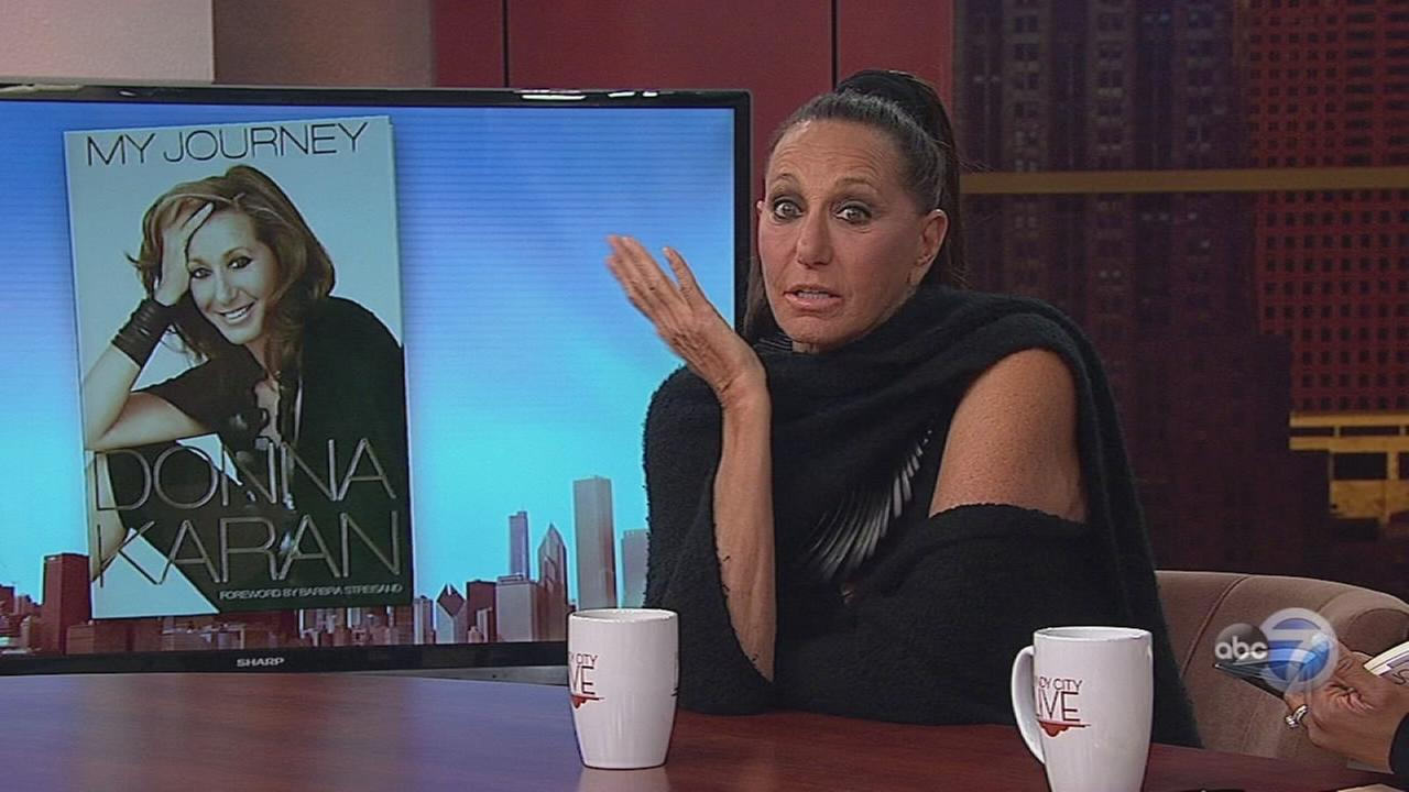 Designer Donna Karan visits Chicago, Part 1