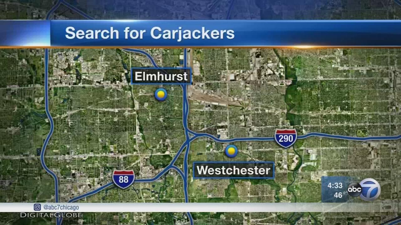 Police search for carjackers targeting western suburbs
