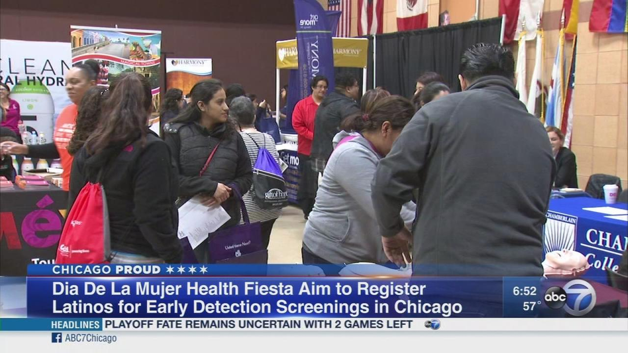 Nationwide health tour begins in Chicago