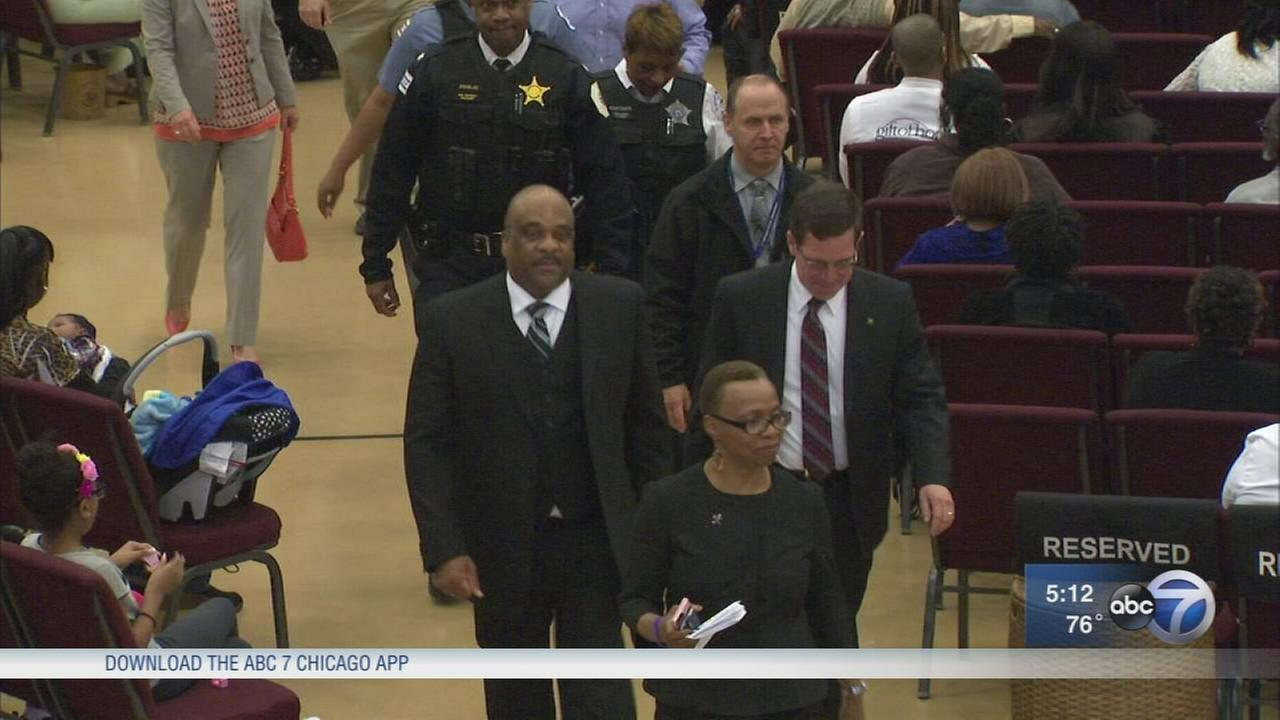 CPD Supt. Eddie Johnson talks about organ donation