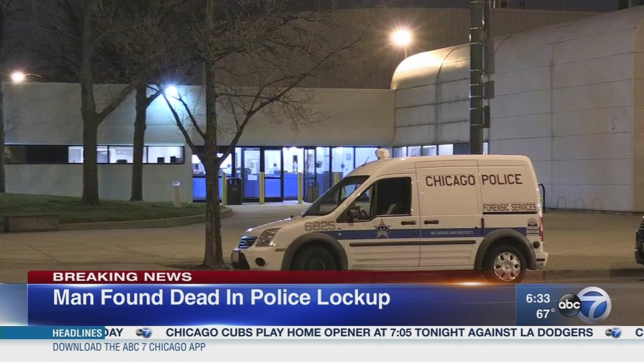 Man found dead in CPD lockup