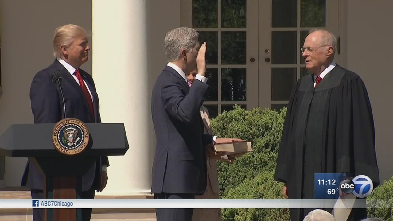 Gorsuch joins Supreme Court