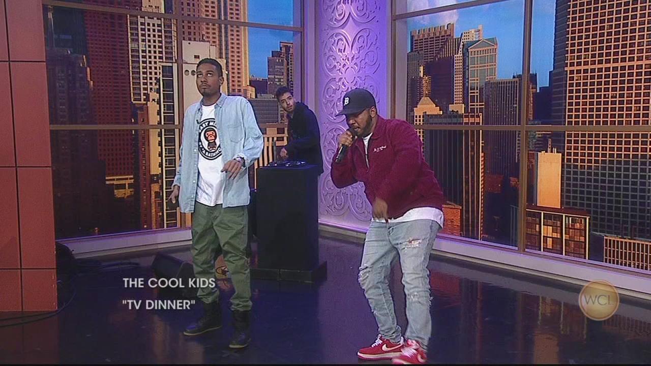 Legendary hip hop duo The Cool Kids