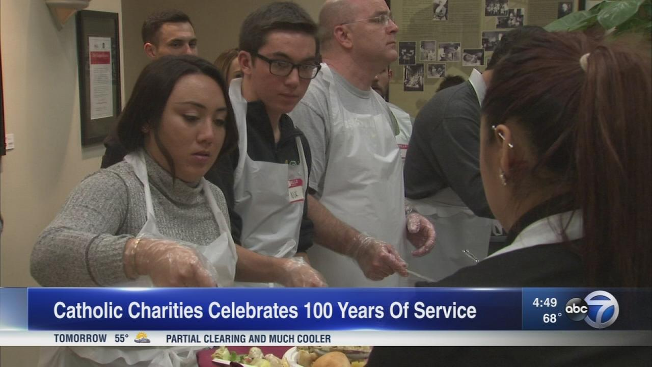 Catholic Charities celebrates 100 years of service
