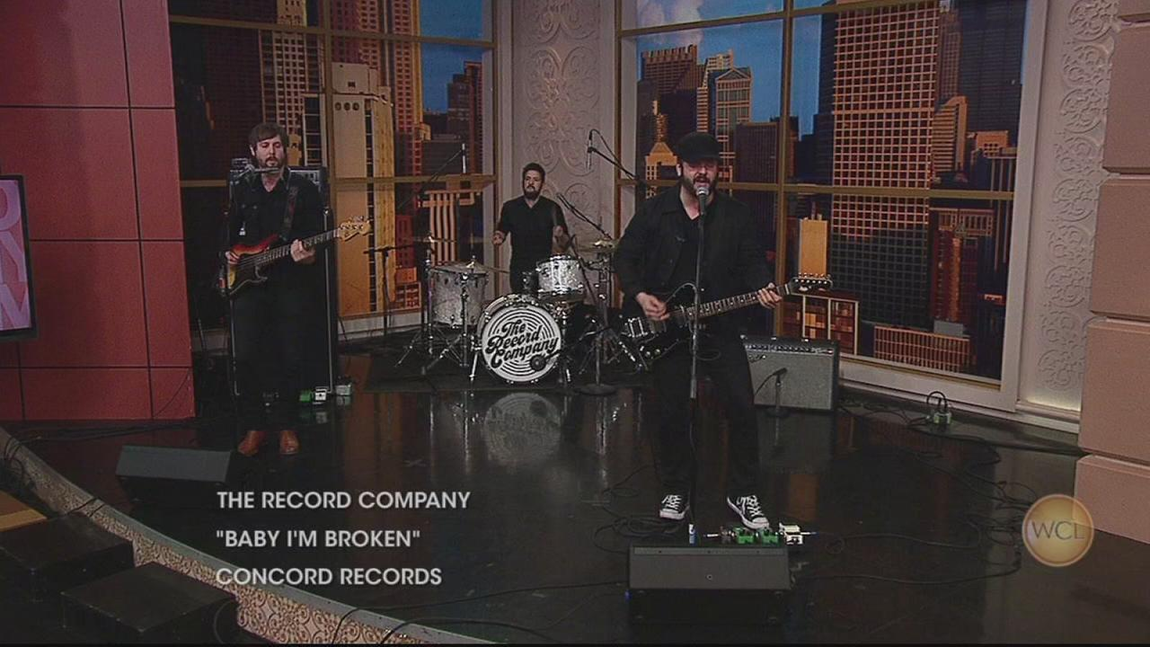 The Record Company performs