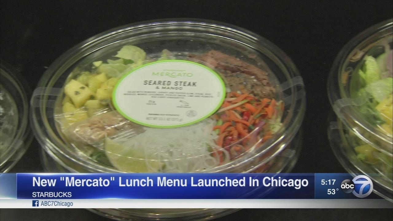 Starbucks new menu debuts in Chicago