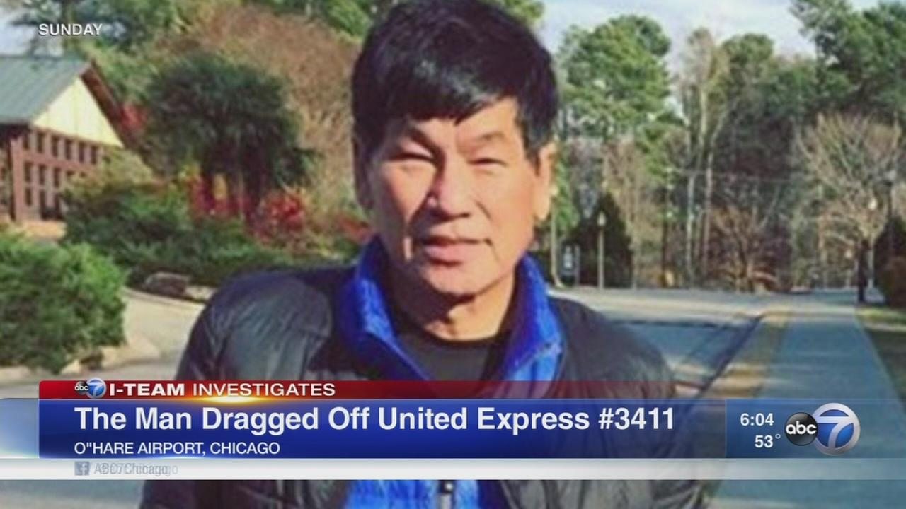 Who was the United passenger?