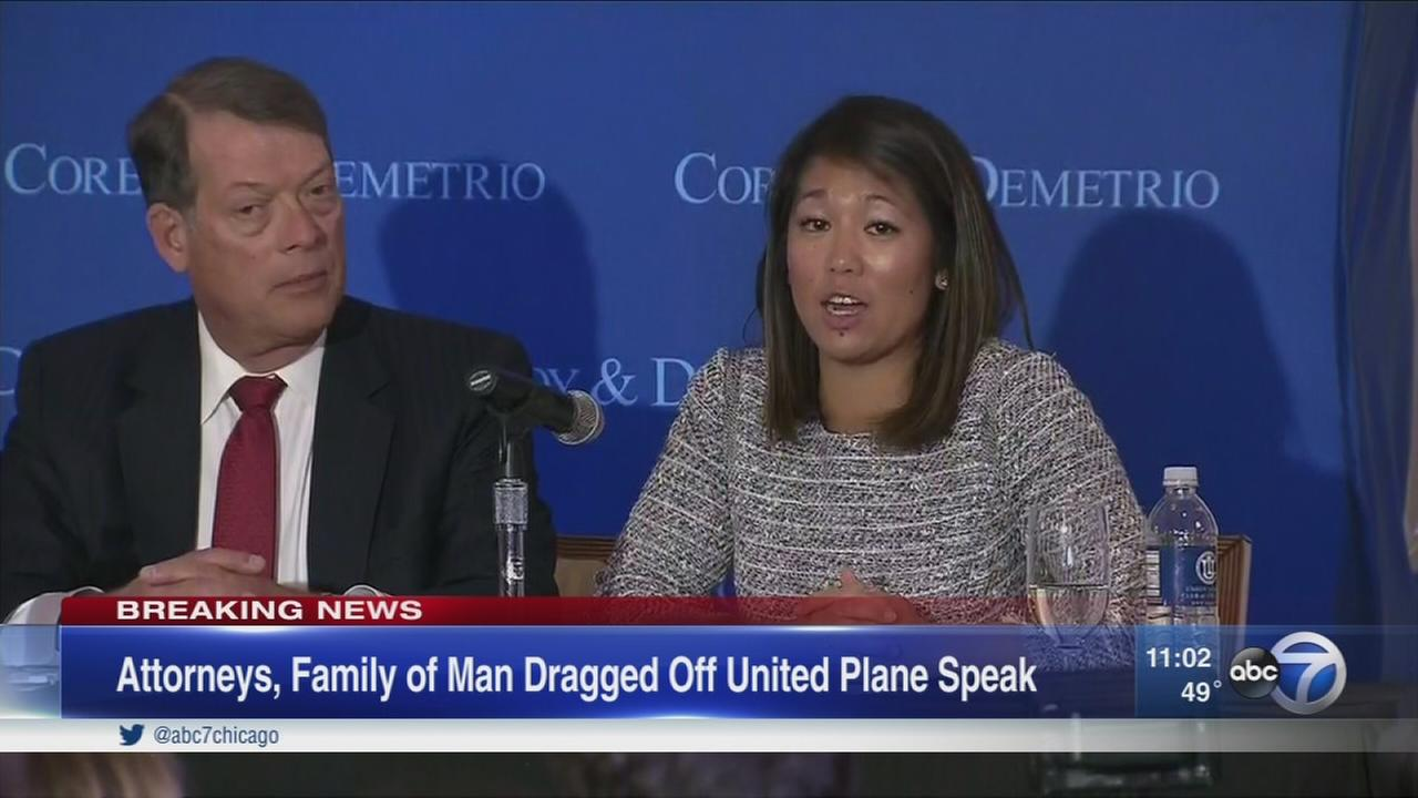 United passengers attorney speaks
