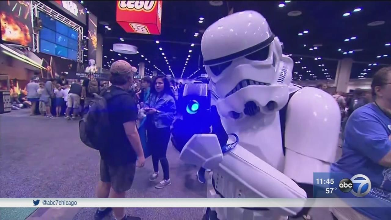 Fans celebrate 40 years of Star Wars