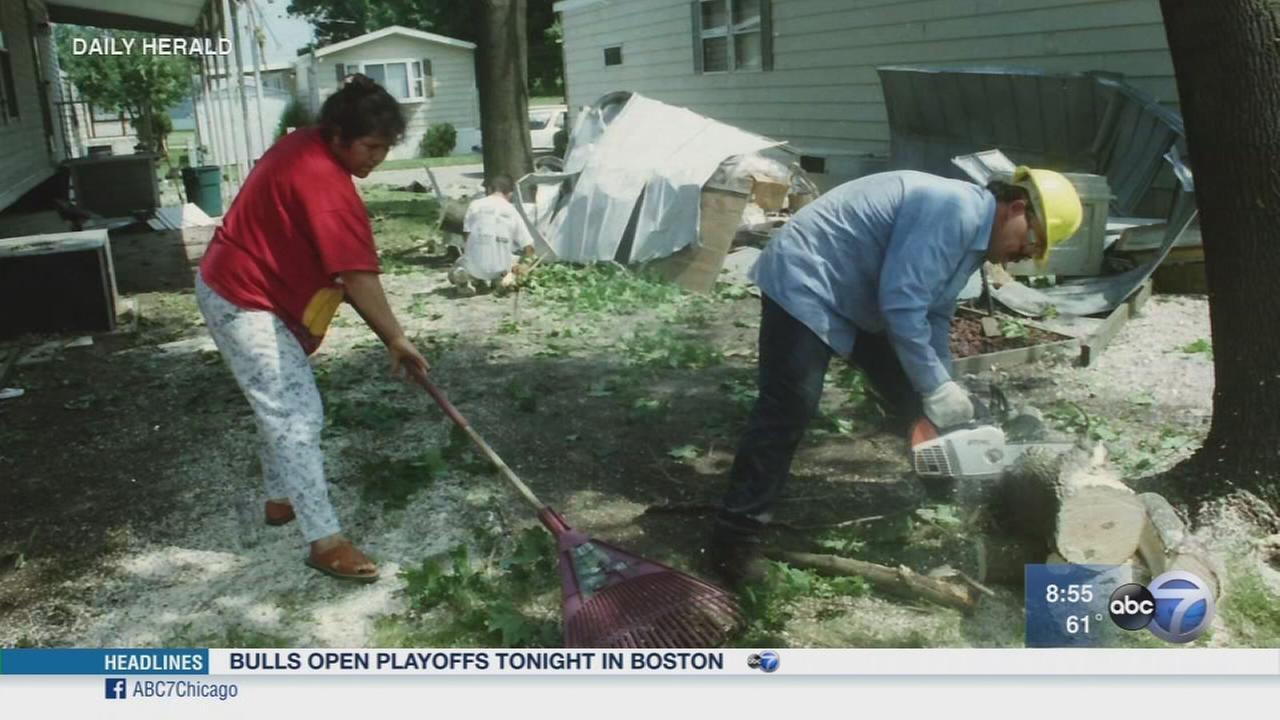 Daily Herald: Trailer park tornado shelters