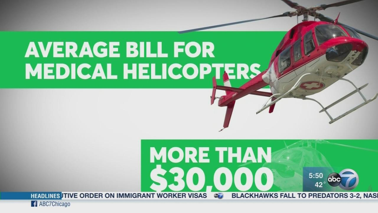 Consumer Reports: Shocking cost of medical helicopters