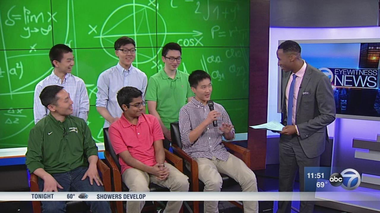 Students to compete in national math competition
