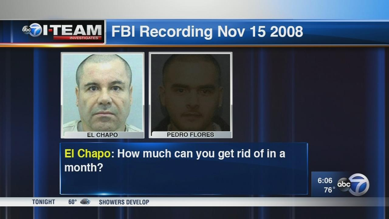 Secret audio key to case against drug lord ?El Chapo?