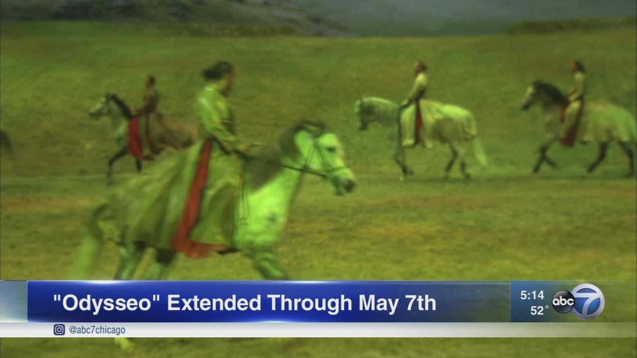 Odysseo extended through May 7