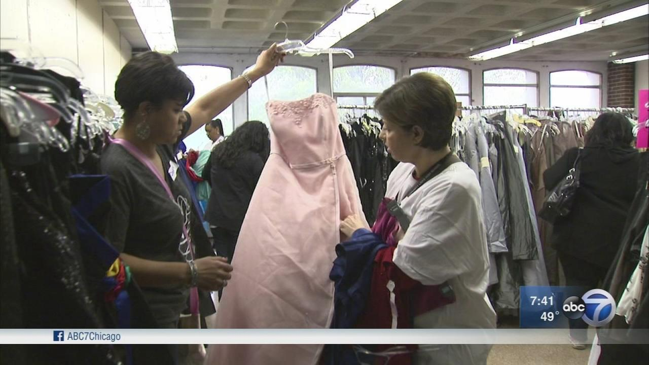 Glass Slipper Project provides dresses, shoes and more to girls for prom