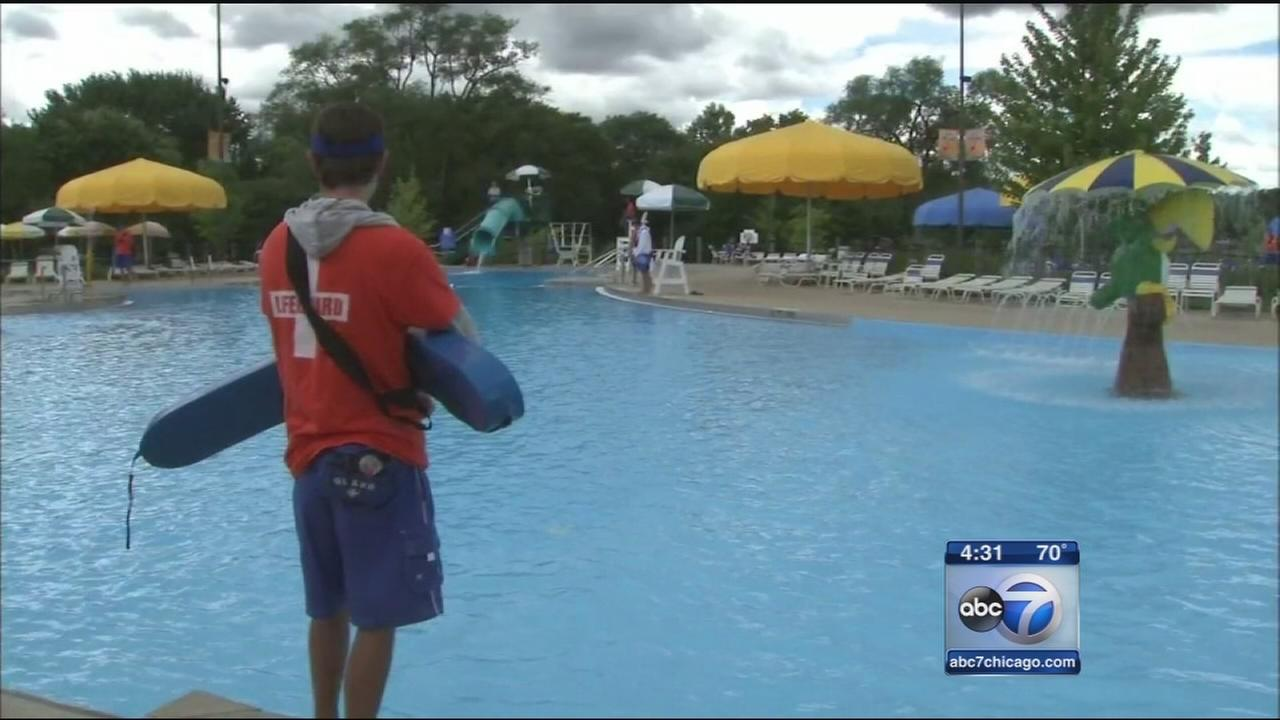 Cool temps close pools across Chicago area