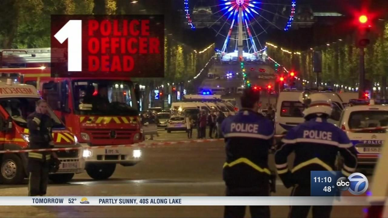 Champs-Elysees gunman had shot at French police before